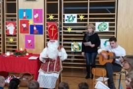 Nikolaus kommt in die VS Gnas