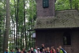 Wandertag der 4.b zur Rindenkapelle